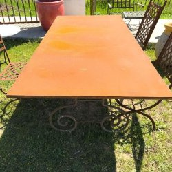 TABLE RECTANGULAIRE FERRONNERIE H73