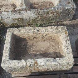 BAC ANCIEN EN PIERRE 50x75CM